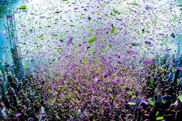 Confetti kleur